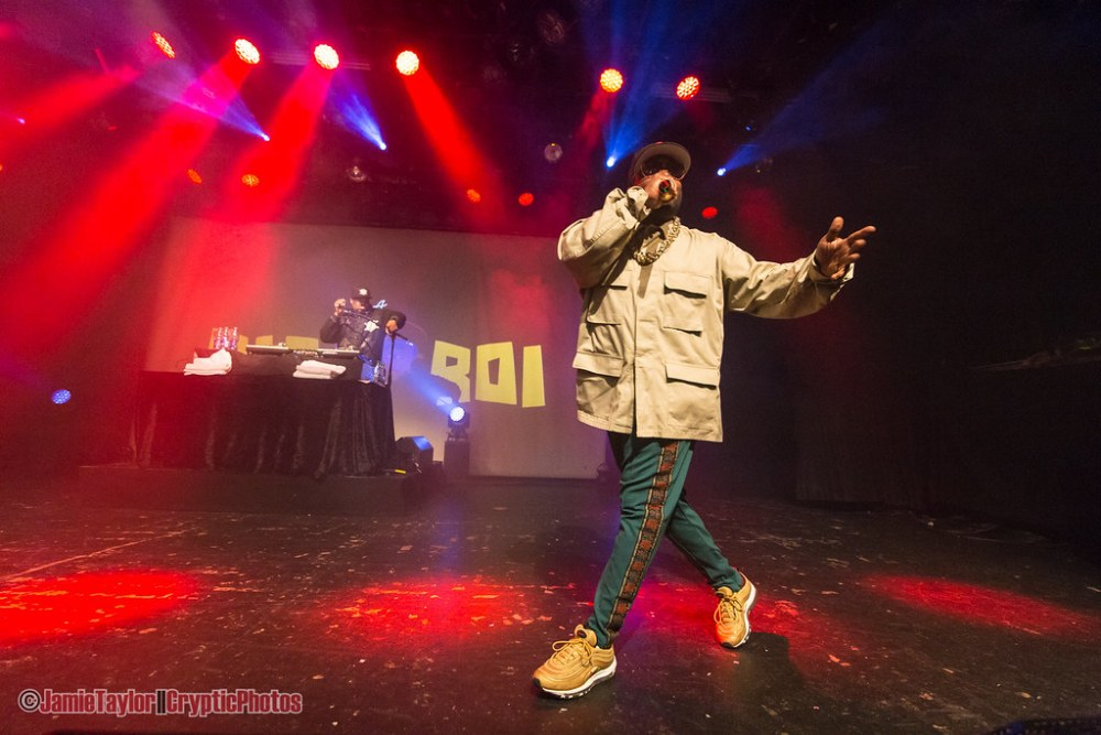 Big Boi of Outkast at the Commodore Ballroom in Vancouver, BC on January 9th, 2017