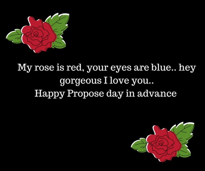 Advance Happy Propose Day