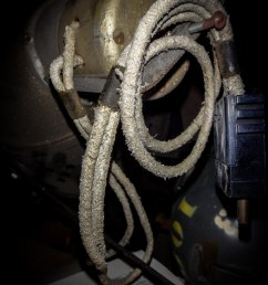 vintage stage lighting electrical wire asbestos insulation flickr rh flickr com asbestos attic insulation asbestos insulation [ 768 x 1024 Pixel ]
