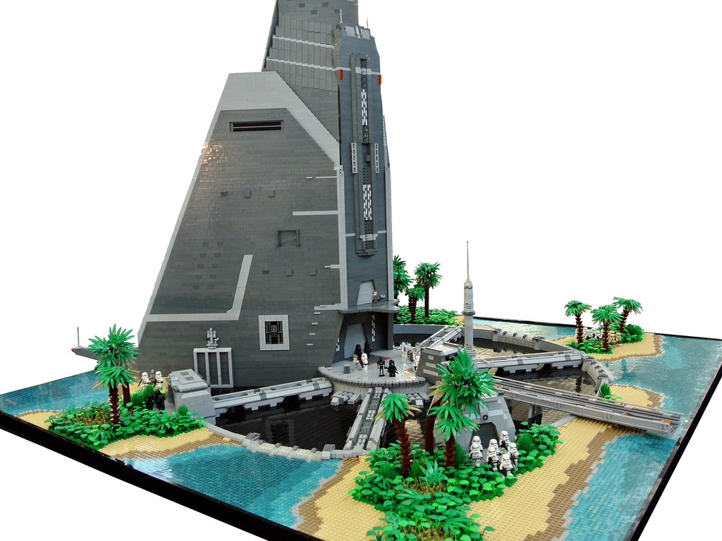 Rogue One  Scarif Citadel  The imperial citadel tower on t  Flickr