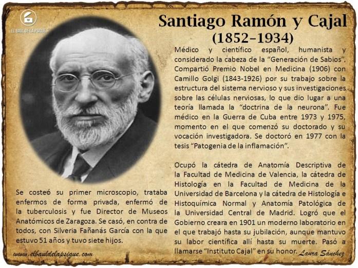 El Baúl de los Autores: Santiago Ramón y Cajal