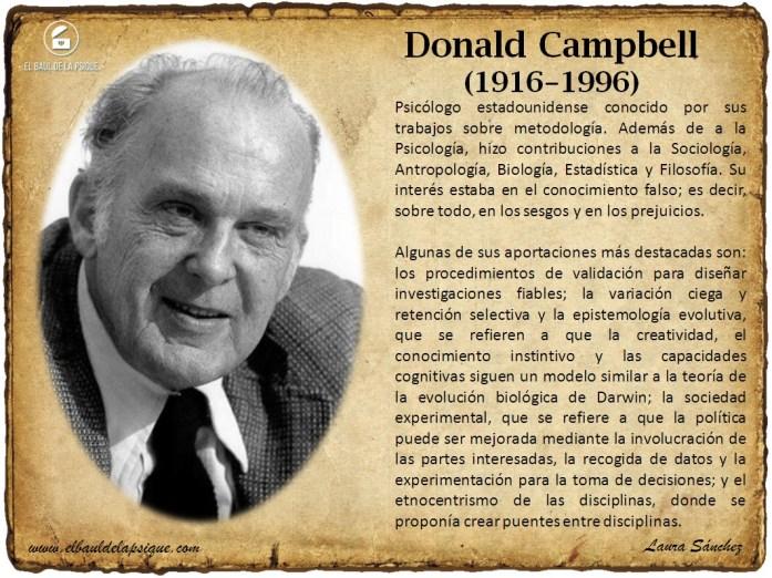 El Baúl de los Autores: Donald Campbell