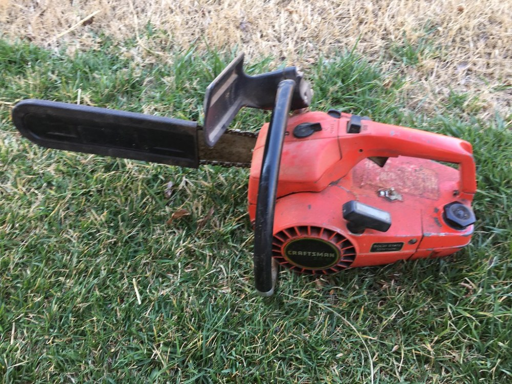 medium resolution of vintage chainsaw project craftsman 2 3