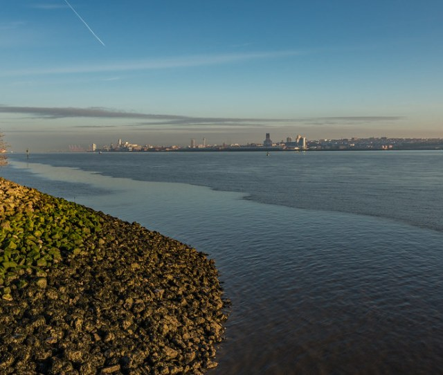 Mersey View Early Morning By Leeroberts550