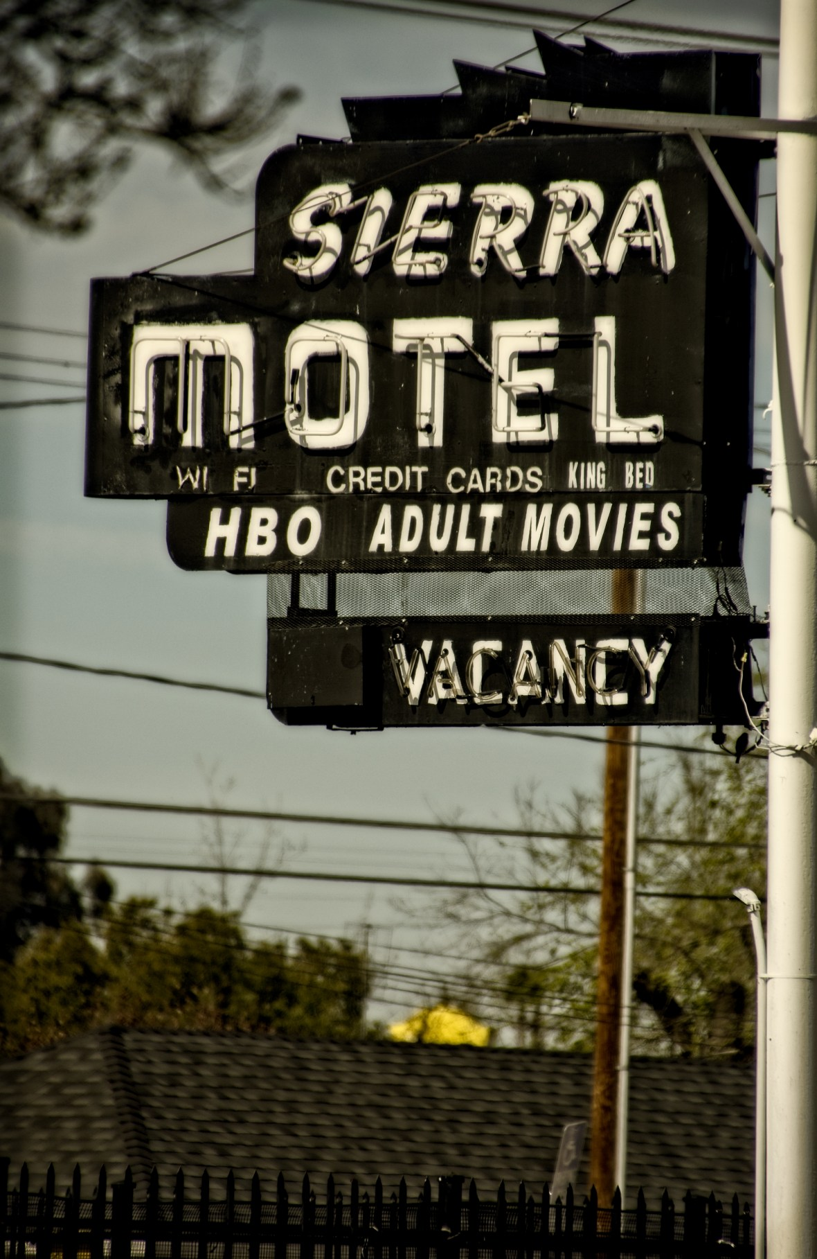 Sierra Motel - 2255 Whitson Street, Selma, California U.S.A. - March 8, 2018