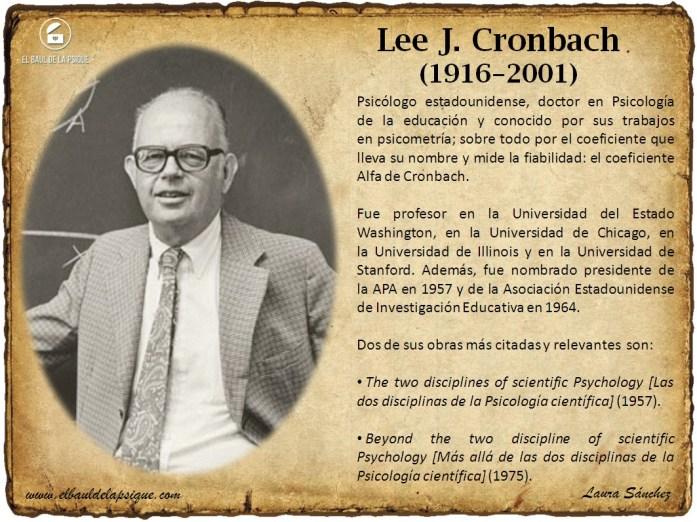 El Baúl de los Autores: Lee J. Cronbach
