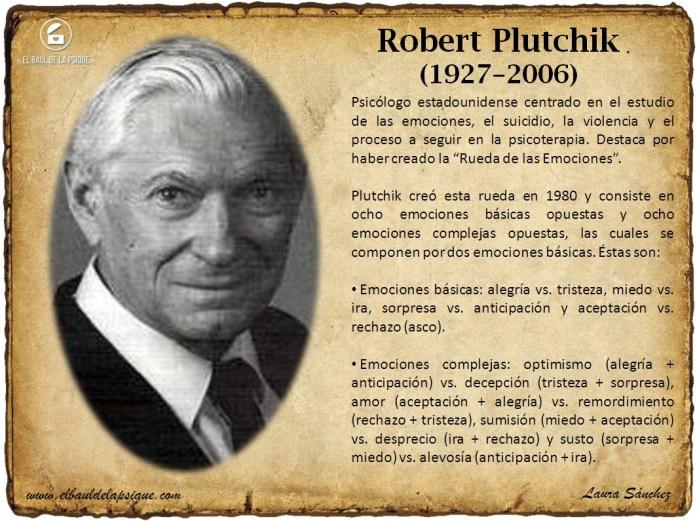 El Baúl de los Autores: Robert Plutchick