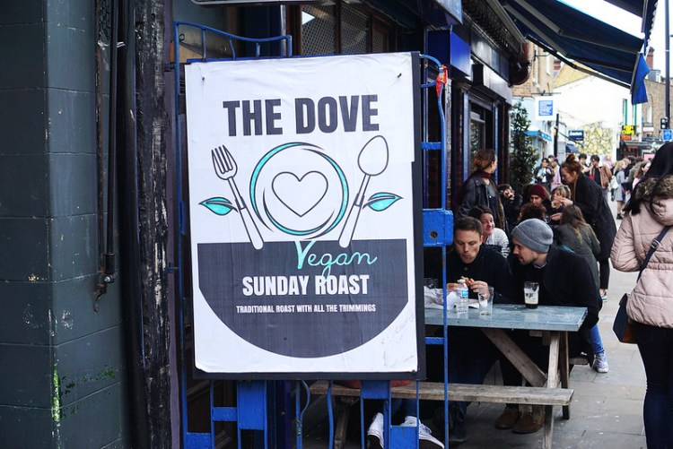 The Dove pub | gluten free Broadway Market guide | Hackney | East London