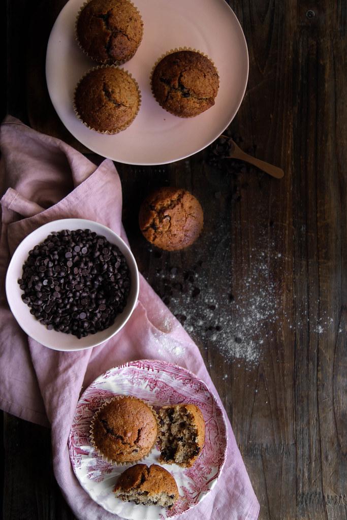 Muffins vegan et sans gluten