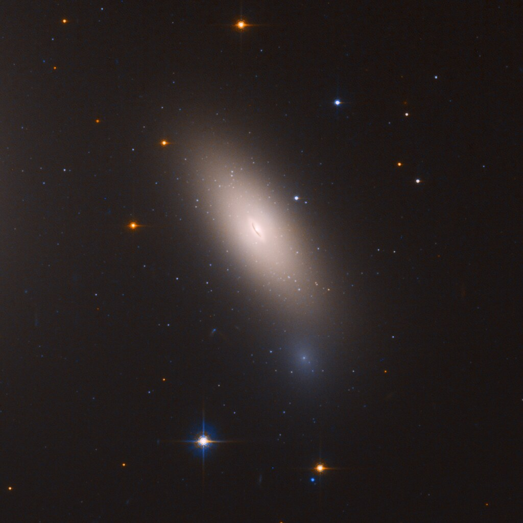 Arrested Development Hubble Finds Relic Galaxy Close To H