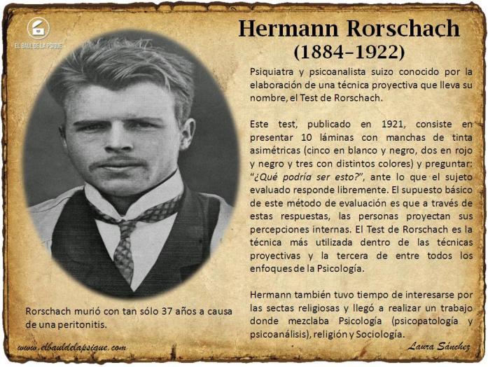 El Baúl de los Autores: Hermann Rorschach