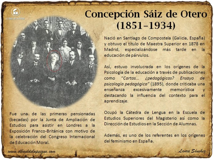 El Baúl de los Autores: Concepción Sáiz de Otero