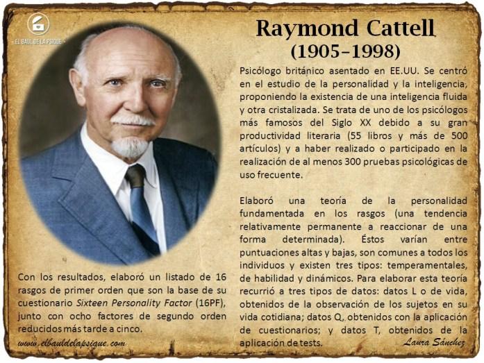 El Baúl de los Autores: Raymond Cattell