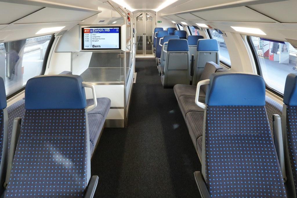 Bombardier SBB FVDosto RABe 502  Seven lengthwise seats on  Flickr