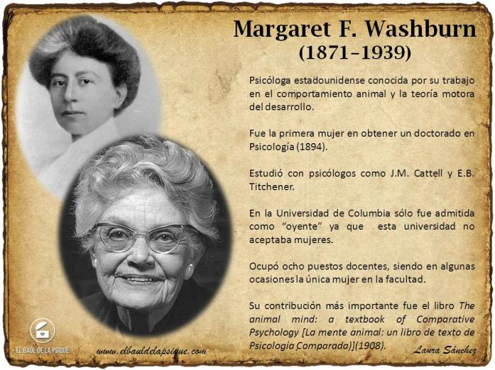 Margaret F. Washburn