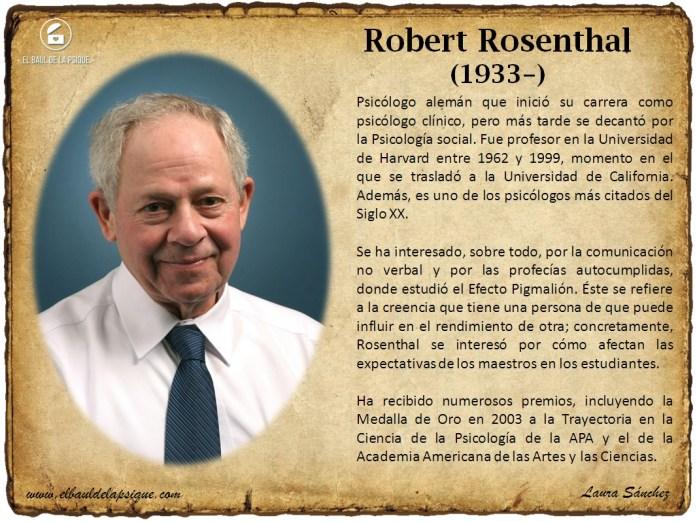 El Baúl de los Autores: Robert Rosenthal