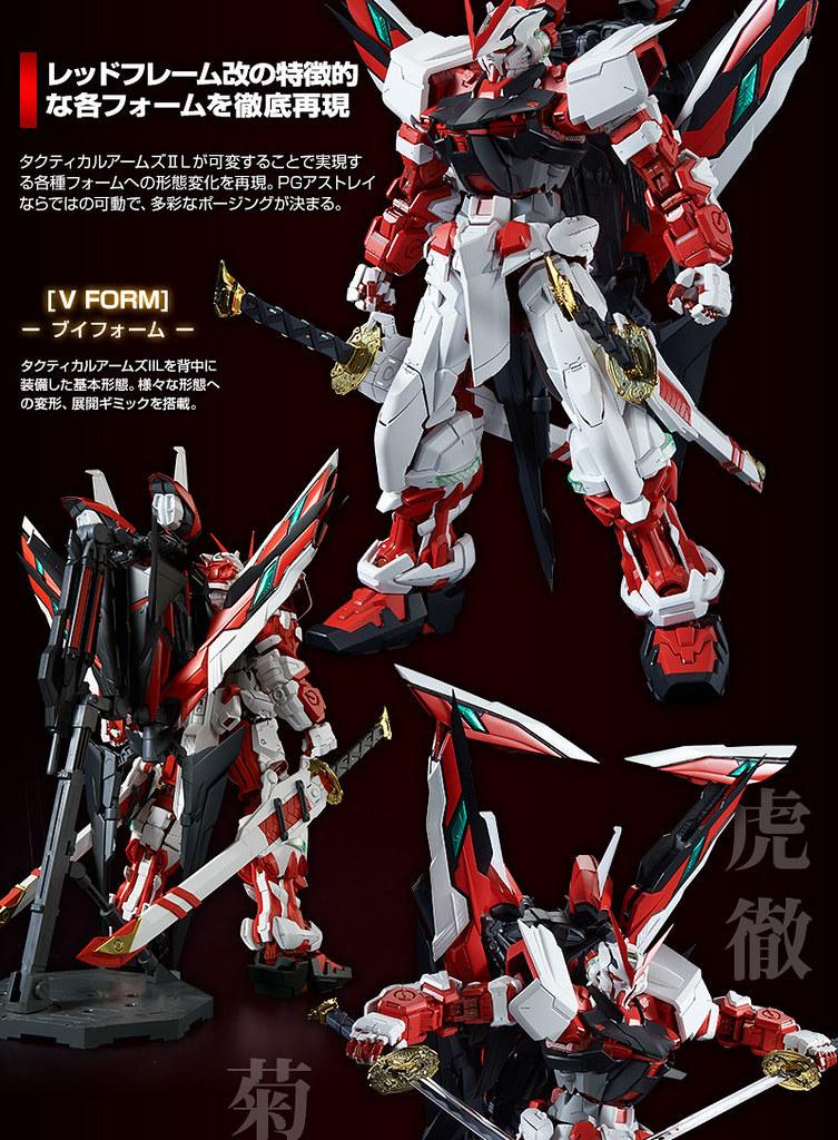六種武裝型態變化「PG 異端鋼彈紅色機 改」18年6月發售 - orz750201的創作 - 巴哈姆特