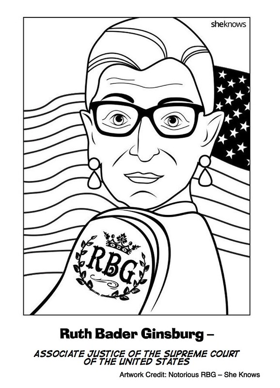 10 Coloring Pages for Women's History Month