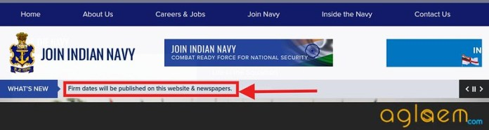 Indian Navy AA, SSR, MR Application Form Dates