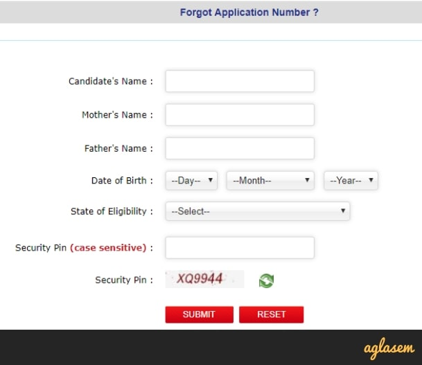 JEE Main Admit Card 2019 - Know what to do if forgotten application number