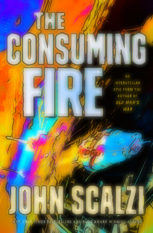A psychedelic remix version of the Consuming Fire cover