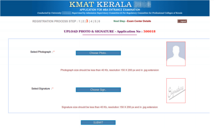 KMAT Kerala 2019 Documents