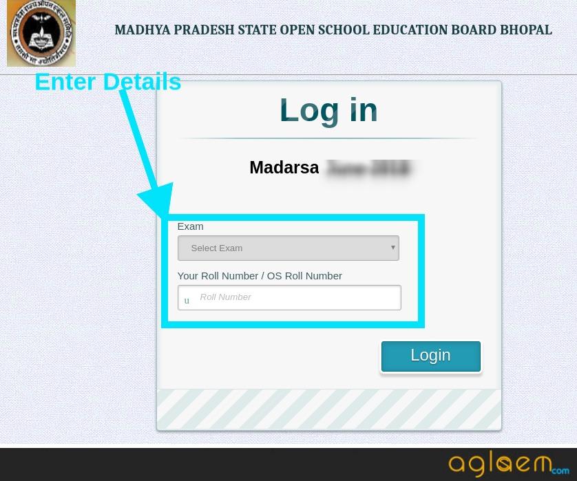 MP Madarsa 10th Result December 2018