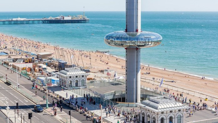 top 50 places to visit in Brighton and Hove