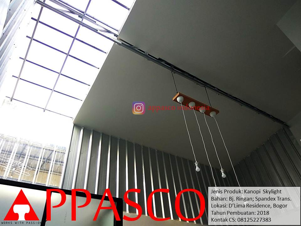 kanopi baja ringan bogor spandek transparan skylight atap rumah flickr