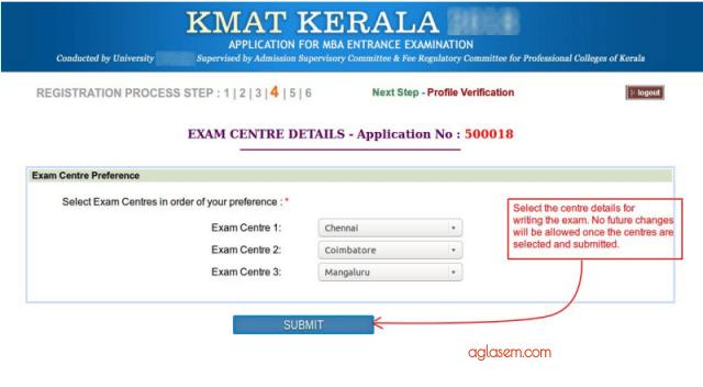 KMAT Kerala 2019 Test City