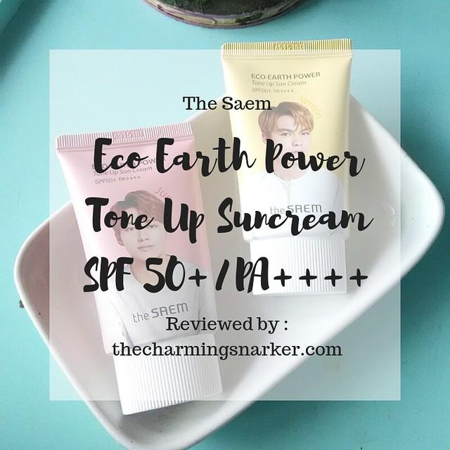 Seventeen Made Me Do It : A Review of The Saem x Seventeen Tone Up Suncream SPF 50/PA++++
