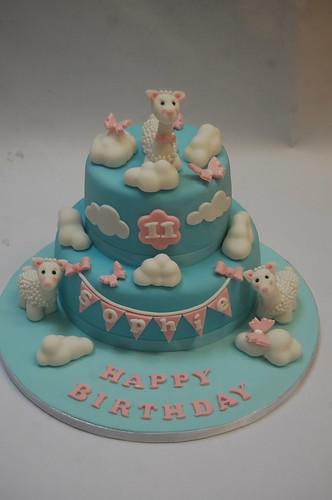 Lovely Lama Cake Beautiful Birthday Cakes