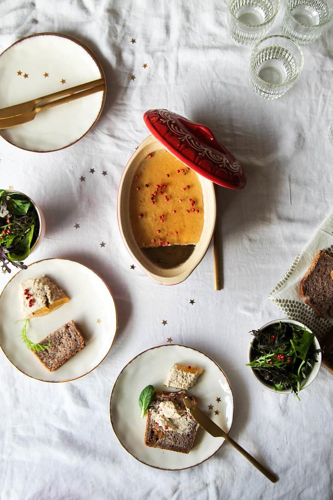 Mousse de foie gras végétal recette