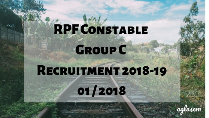 RPF Constable Group C Result 2018-19