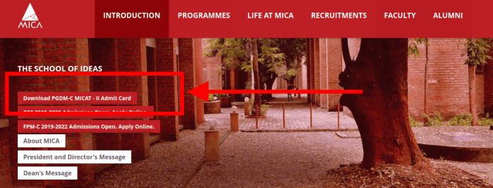 MICAT 2019 Admit Card Available for 09 Feb Exam