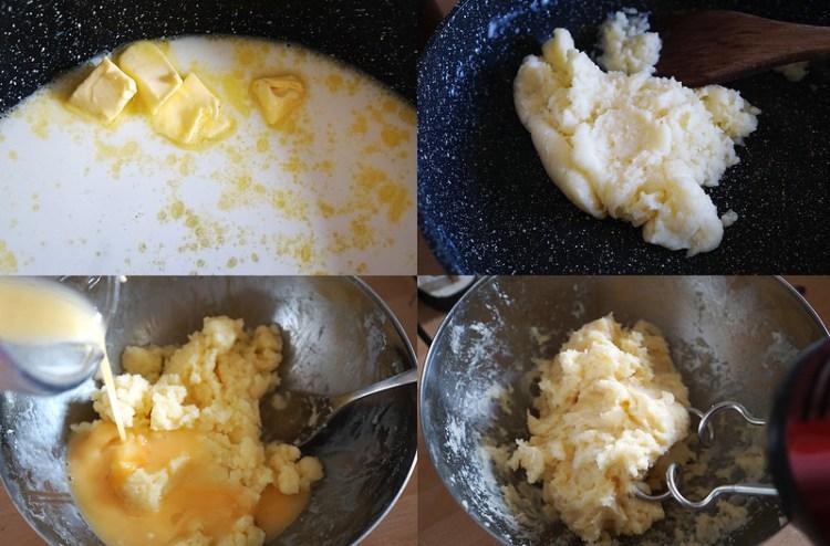 Gluten free cream puffs | how to make choux pastry