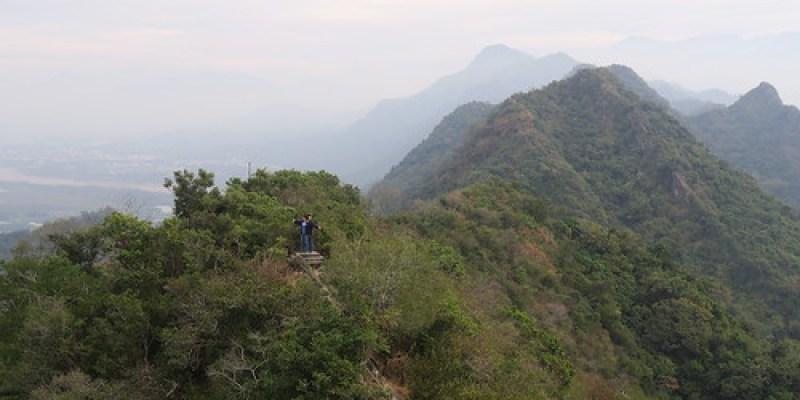 【爬山】迎接2019:爬上陡梯941階的「旗尾山」(14.5ys)