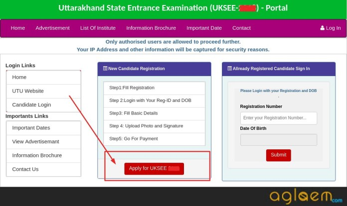 UKSEE 2019 Application Process