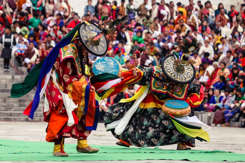 Thimphu Tshechu: Day 1