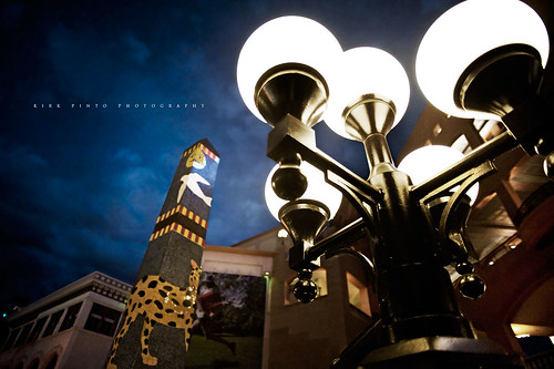 Lamp Post at Horton Plaza San Diego, CA