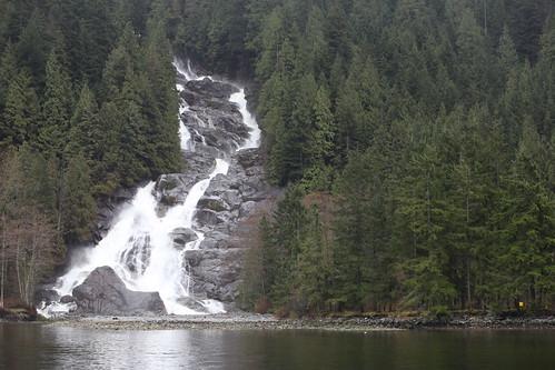Granite Falls on Grand Creek in Indian Arm Provincial Park