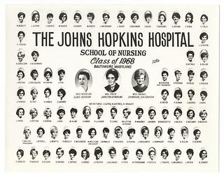 [Johns Hopkins Hospital School of Nursing, class of 1968