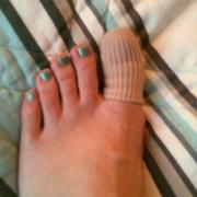 toe protection creepy gel