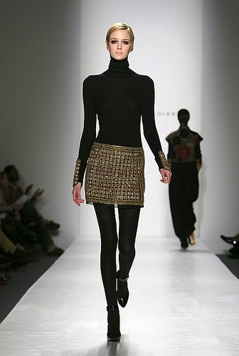 Black Turtleneckmini skirt pantyhose and high heels  Flickr
