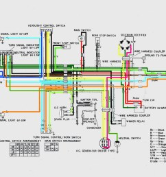 honda cb100 wiring diagram [ 1024 x 793 Pixel ]