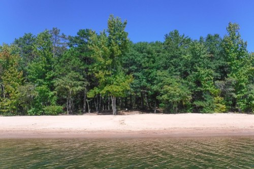 Paddling to Ghost Island in Lake Hartwell-69