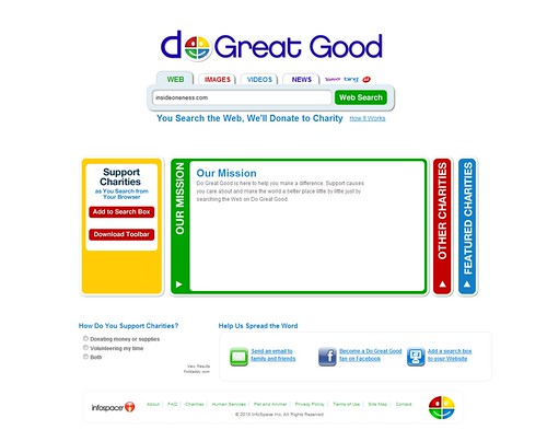 Insideoneness - Do Great Good Search Engine