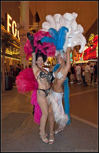 Showgirls On Fremont Street 2010 Las Vegas Sandro Menzel Flickr