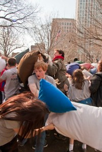 National Pillow Fight Day 2011 | Ben Mason | Flickr