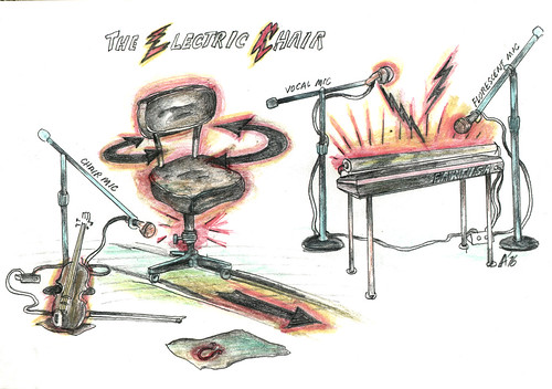 56electricchairdrawing  See Downtown canon on the